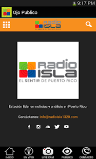 Radio Isla Movil: miniatura de captura de pantalla