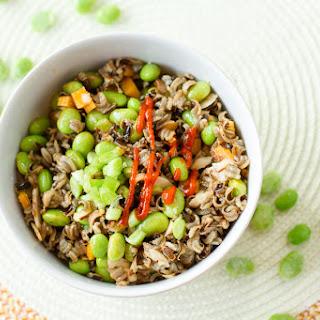 Wild Rice and Edamame Sriracha Salad Recipe