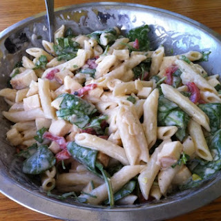 Smoked Mozzarella and Penne Salad - ala Whole Foods.