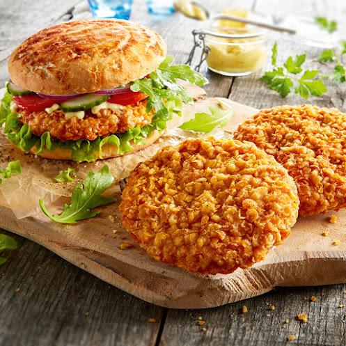 Abbildung Crunchy-Chicken-Burger