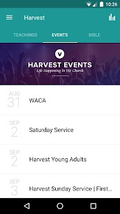Harvest Fellowship App- screenshot thumbnail