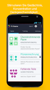 Fit Brains (Gehirn-Fitness) Screenshot