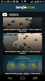 Tempo Agora - 10 days forecast- screenshot thumbnail