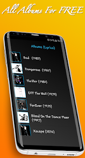 MJ Songs and Lyrics - náhled