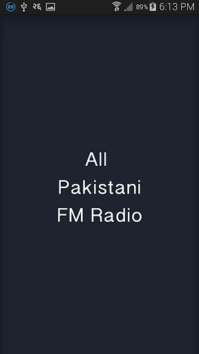 All Pakistani FM Radio
