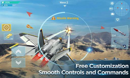 Air Combat OL: Team Match  screenshots 9