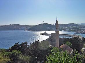 Photo: Bodrum, zicht vanuit het kasteel