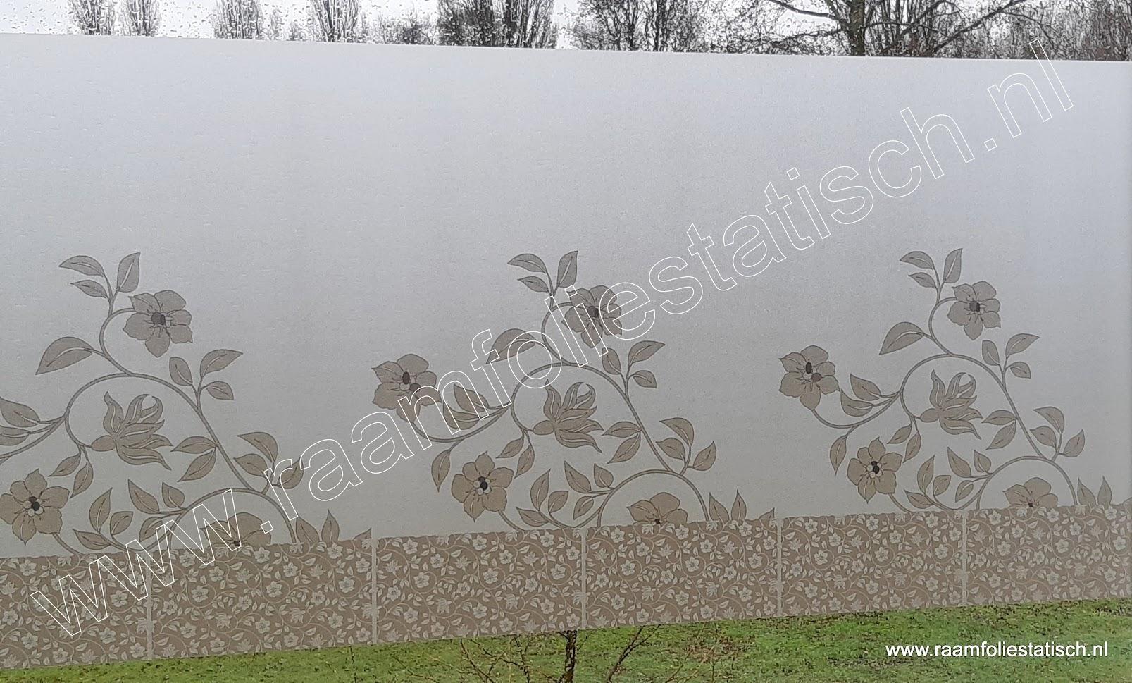 Raamfolie statisch Narcisos 70cm Linea fix