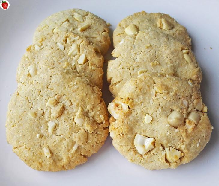Crispy Honey Cookies with Nuts (Dairy-Free & Gluten-Free) Recipe