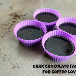 Dark Chocolate Coffee Fat Bombs