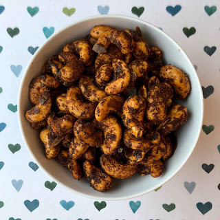 Low Carb Sweet & Spicy Cashew Nuts.