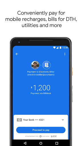 Google Pay (Tez) - a simple and secure payment app screenshot 2