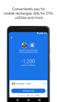 screenshot of Google Pay (Tez) - a simple and secure payment app
