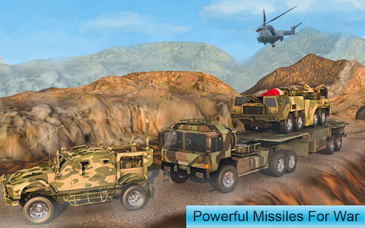 Missile War Launcher Mission - Rivals Drone Attack