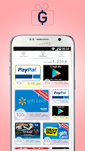 Gifties – Gift Cards & Rewards 4