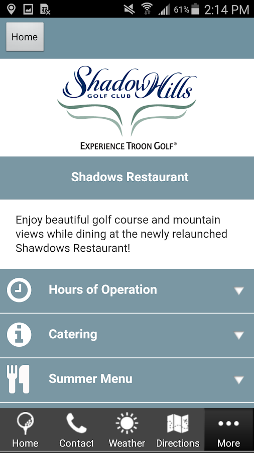 Shadow Hills Golf Club- screenshot