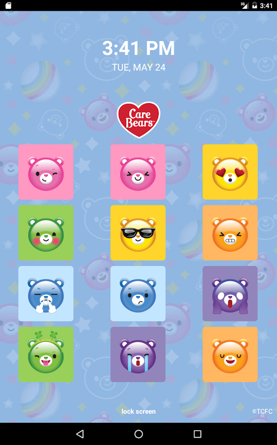 Care Bears™ Lock Screen- screenshot