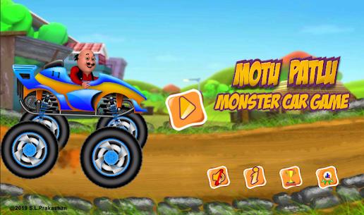 Motu Patlu Monster Car Game 1