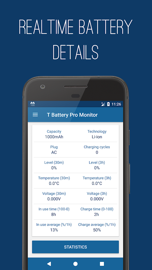 T Battery Pro Monitor- screenshot