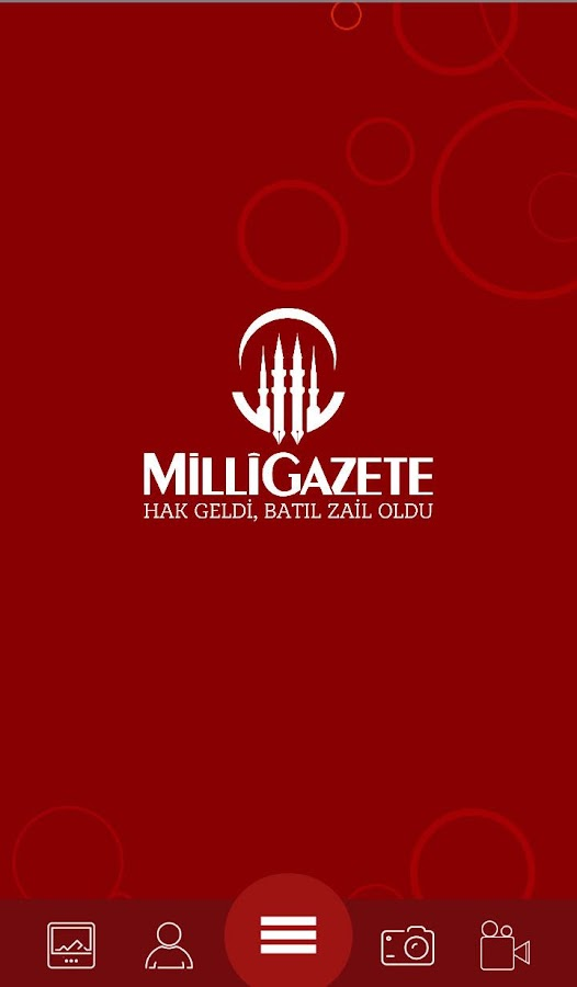 Milli Gazete- screenshot