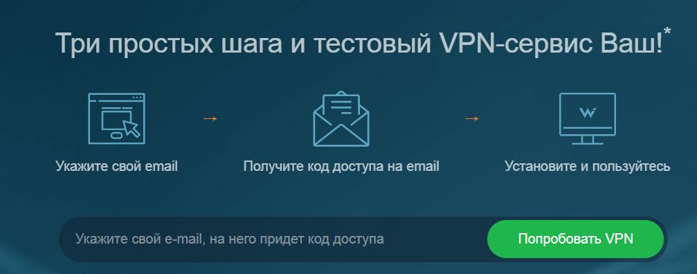 Как включить VPN