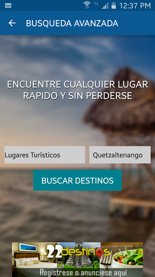 22destinos - Explora Guatemala- screenshot