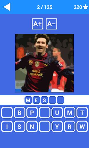 Guess Footballer Quiz 1.2 screenshots 1