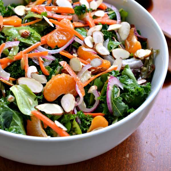 Kale Salad With Ginger Vinaigrette Recipe