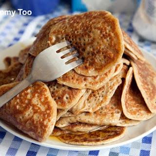 Vegan Breakfast Pancake Stack.