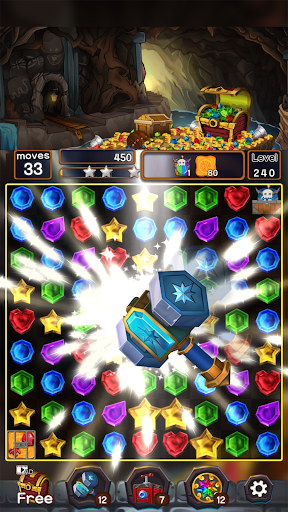 Jewel Mine Quest: Match-3 puzzle apkmr screenshots 8