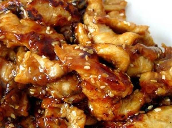 Sesame Chicken In Slow Cooker