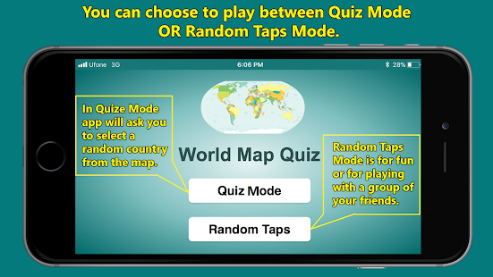 World map geography quiz apps on google play screenshot image gumiabroncs Image collections