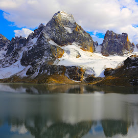 Chitta Katha Lake Pakistan by Atif Abbas - Landscapes Mountains & Hills ( neelam valley, beautiful mountain, ajk, beautiful lake, pakistan, neelam, majestic, chitta katha, stunning, lake, kashmir )