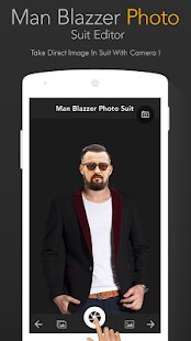 Man Blazer Photo suit - náhled