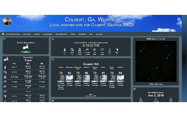 Colbert Weather
