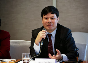 Photo: 22 August 2013 - IAFEI Asian Consultations: IAFEI Area President for Asia, Bach Nguyen giving his opening remarks