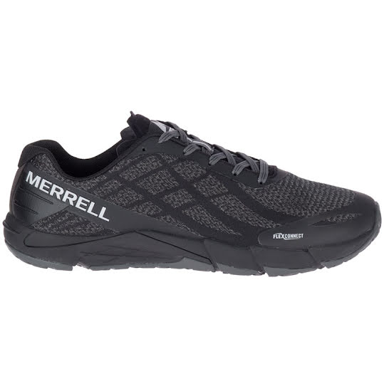 Merrell Bare Access Flex Shield Man Black/White Stl: 40