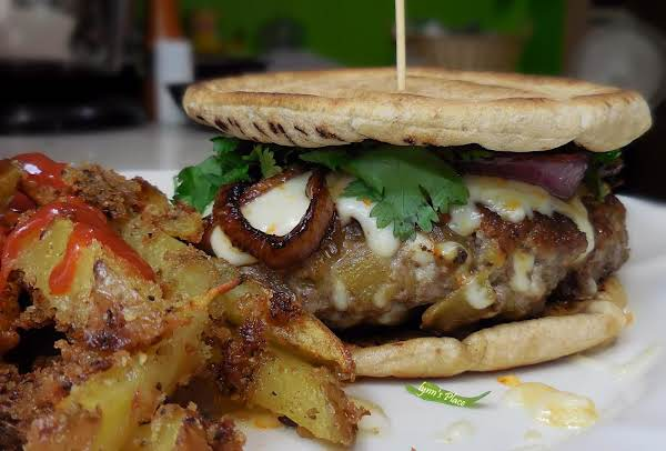 Hatch Chile & Cotija Burger