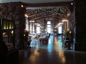 Photo: Entrance to Ahwahnee Hotel dining room. #3627