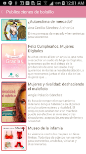 Mujeres Digitales- screenshot thumbnail