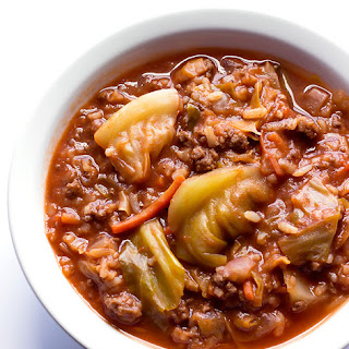 Unstuffed Cabbage Roll Soup.