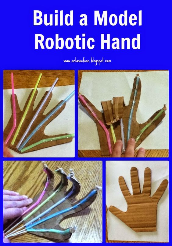 construir mano robot