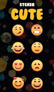 Cute Emoji Keyboard Sticker - náhled