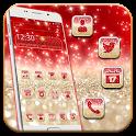 Red Sparkle Glitter icon