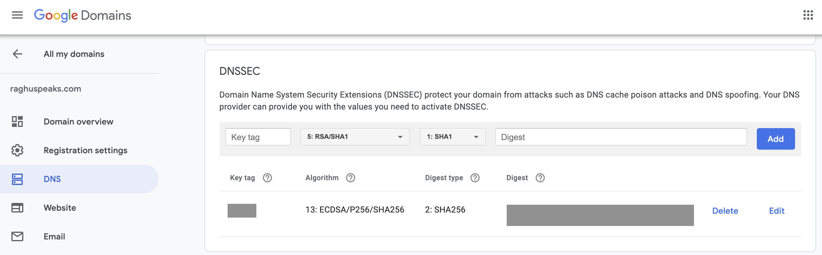 DNSSEC-configuration-google-domains