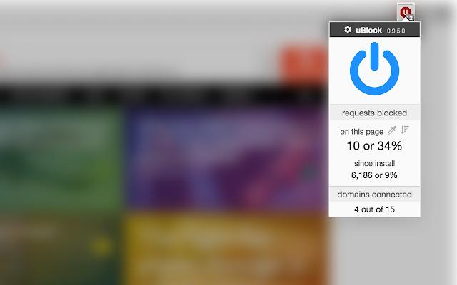 uBlock - Chrome Web Store
