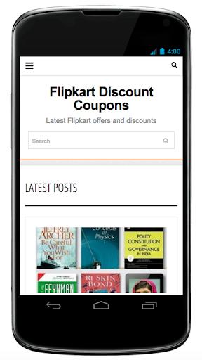Flipkart coupons offers
