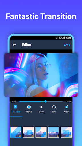 Video maker with photo & music 1.0.2 screenshots 1