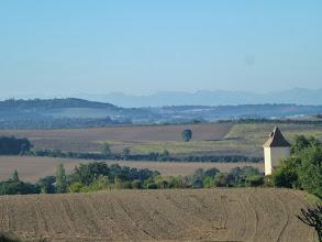 Photo: belle vue matinale sur la campagne gersoise