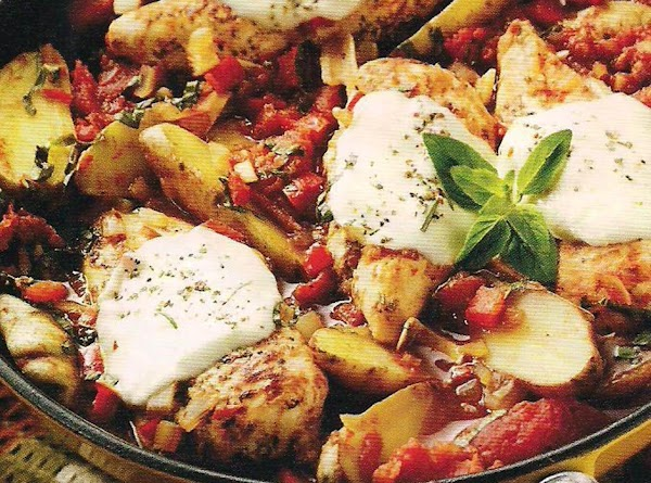 Oven Roasted Tuscan Style Chicken With Fingerling Potatoes Recipe